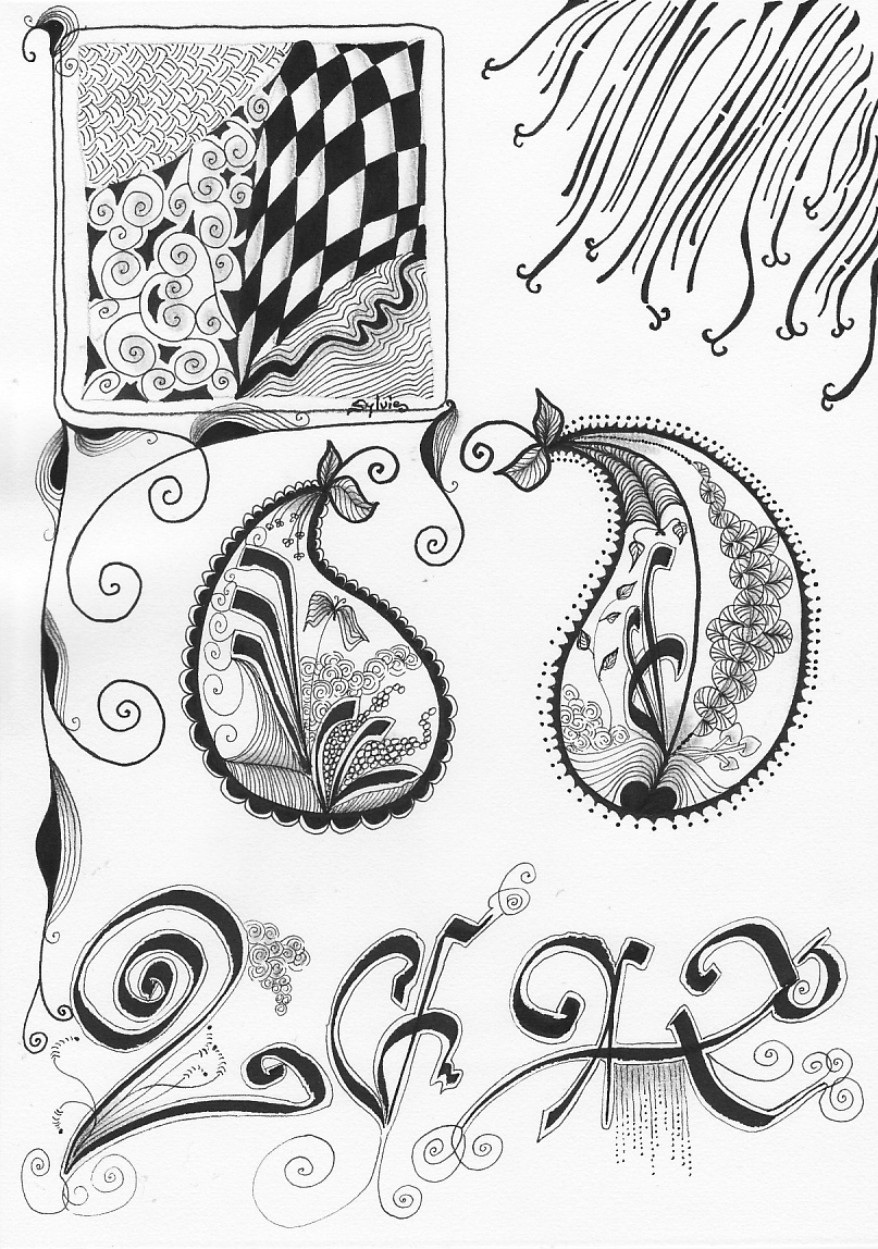 Sylvie-calligraphie